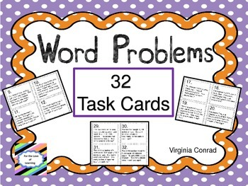 Division Word Problems:  3 and 4 Digit Divided by 1 Digit