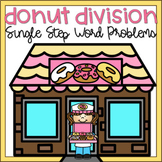 Division Word Problems 3rd Grade Digital Math Task Cards G