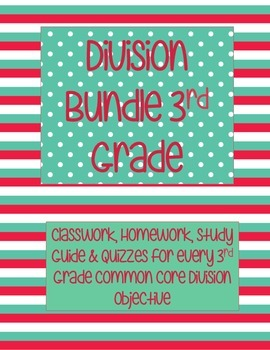 Division Word Problems Bundle