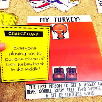 Division Word Problems No Remainders Thanksgiving Game by The ...