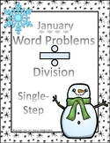 Division Word Problems One-Step (January)