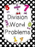 Division Word Problems: Package One