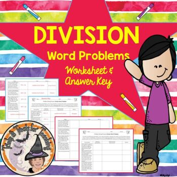 Division Word Problems Read Write and Solve Step by Step D