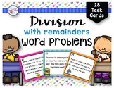 Division Word Problems with Remainders