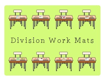 Division Work Mats