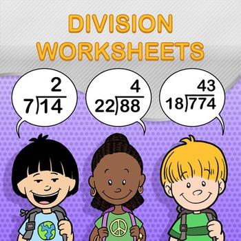 Division Worksheet Generator Bundle Pack - Create Infinite Math Worksheets!