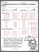 3rd Grade Division Worksheets: Spring Themed Practice Pages