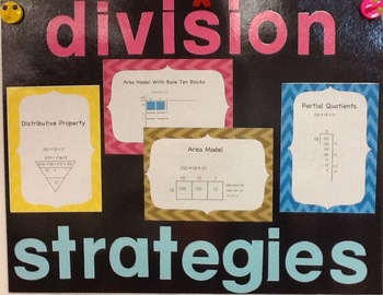 Division Unit Models, Worksheets, Activities, Test Common