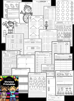 Division Activities: Division Worksheets & Division Printables
