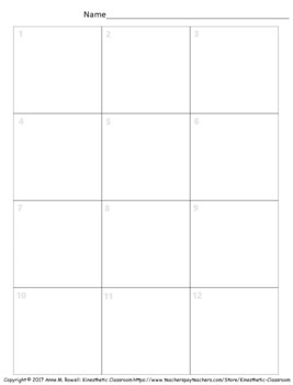 Division Activity: Grid Drawing Math Worksheets