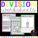 Division Worksheets for Beginners