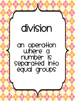 Division anchor posters