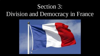 Division and Democracy in France PowerPoint