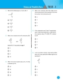 Division and Divisibility Rules 60 Test questions with Answer Key