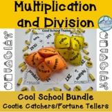Division and Multiplication Cootie Catcher Bundle