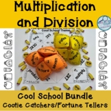 Division and Multiplication Cootie Catcher Bundle
