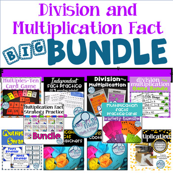 Division and Multiplication Mega Bundle