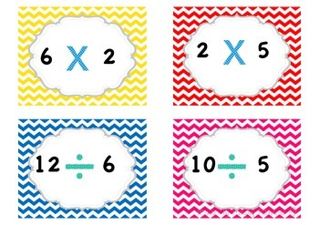 Division and Multiplication Memory Match