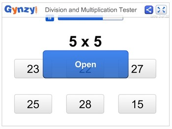 Division and Multiplication Tester