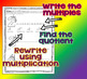 Division and Multiplication Unicorn Math- Multiplication/D