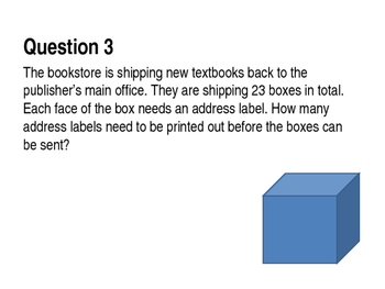 Division and Multiplication Word Problems Review