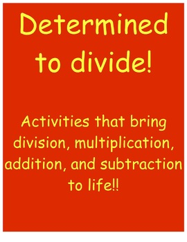 Division and Operations Introduction and Rigorous Activities