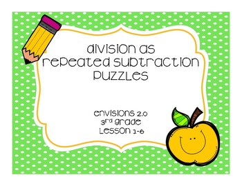 Division as Repeated Subtraction Puzzles