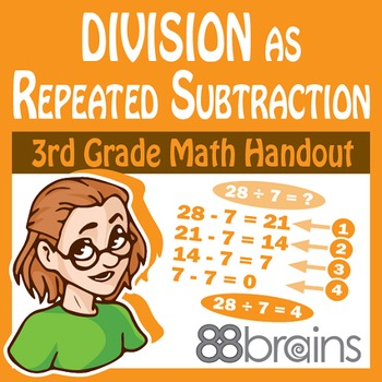 Division as Repeated Subtraction pgs. 34-36 (CCSS)