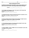 Division as Sharing Worksheet