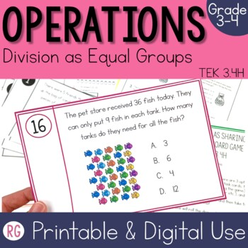 Division as Sharing with Pictures