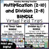 Division by 2 to 8 and Multiplication 2-10 Times Tables Vi