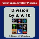 Division by 8 / Division by 9 / Division by 10 - Color By