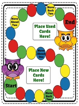 Division by One Digit Divisors Task Cards, Recording Sheet and Board Game