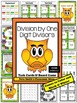 Division by One Digit Divisors Task Cards, Recording Sheet