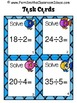 Division Task Cards for Division by One Digit Divisors Oce