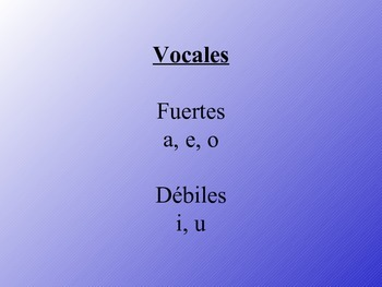 División de sílabas