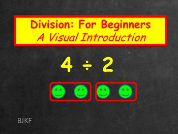 Division for Beginners: A Visual Introduction with Student Worksheet