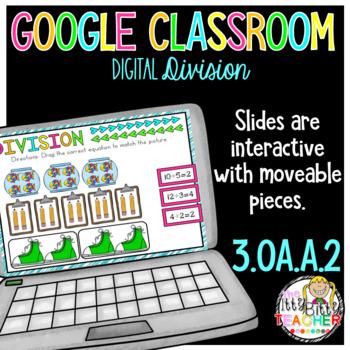 division for google classroom third grade by the itty bitty teacher rh teacherspayteachers com