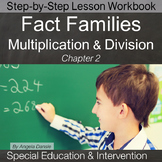 Division & Multiplication Fact Families | Special Education Math | Intervention