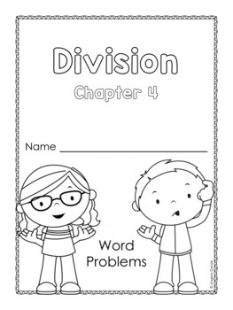 Division Word Problems for Special Education and Intervention, Ch. 4