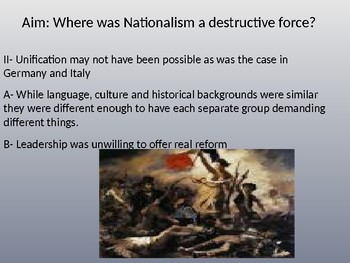 Division in Nationalism Powerpoint