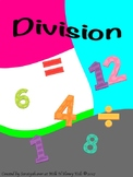 Division key chain flash cards
