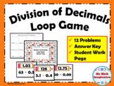 Division of Decimals Loop Game