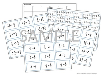 Division of Fractions Problem Tickets