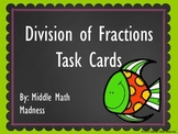 Division of Fractions Task Cards