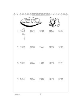 Division of Multi-Digit Numbers by 1-Digit Numbers with No Remainders