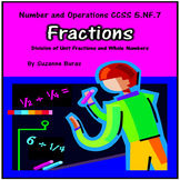 Division of Unit Fractions and Whole Numbers:  5.NF.7
