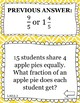 Division of Whole Numbers Word Problems - Scavenger Hunt (5.NF.B.3)