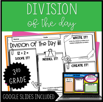 Division of the Day {3rd Grade}