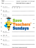 Division on a number line lesson plans, worksheets and more
